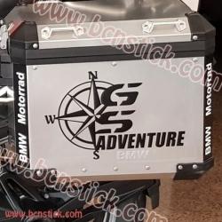 """Kit pegatinas BMW """"GS Adventure"""""""