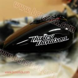 """2x pegatinas """"Harley Davidson"""""""