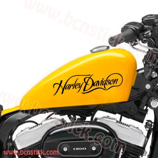 Kit de letras estilo Harley Davidson para deposito