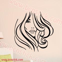 Chica ideal para peluquería 60x63cm