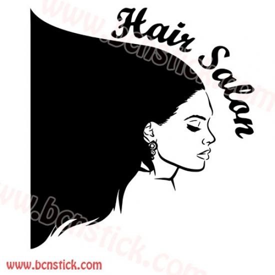 Vinilo decorativo centros de belleza, estética y peluquerías