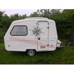 Rosa de viento 60x60cm Mini Caravana