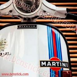 """Kit de Vespa """"Martini"""" #2"""