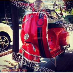 Vespa Fred Perry (Kit completo)