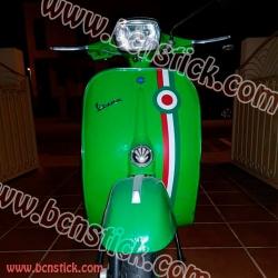 Vespa bandera Italiana #3