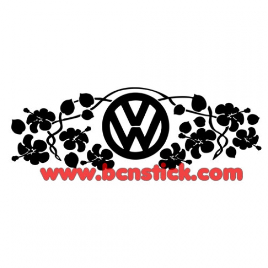 Adorno para capot del Volkswagen 78x26